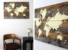 #Cuadros en madera
