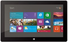 HP ElitePad specs - lb Windows 8 tablet with inch multi-touch display offers long battery life, SSD drive, front & rear cameras, and security. Small Windows, Windows 8, Surface Rt, Start Screen, Thing 1, Multi Touch, Microsoft Surface, Technology Gadgets, Shopping