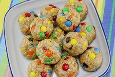Monster Cookie Energy Bites - No bake after school snack
