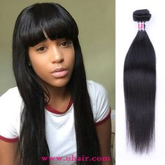 Peruvian Virgin Hair Straight 3 Bundles With 1 Pc Peruvian Straight Lace Closure Uhair Products Human Hair Straight Weave Hairstyles, Lace Closure, Lace Frontal, 100 Human Hair, Human Hair Extensions, Virgin Hair, Mall, Hair Beauty, Free Shipping