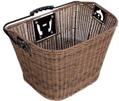Axiom QR Faux Wicker basket $60. Perfectly sized for the Trek Allant WSD. The screws match with the front Allant rack.