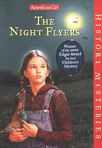 The Night Flyers Pam's father is a soldier fighting in WWI, and while he is away, Pam is responsible for his business of raising homing pigeons. When a stranger with an accent moves into their North Carolina town, people think he's a German spy. When the stranger offers to buy Pam's pigeons and she refuses to sell, Pam grows suspicious when the birds start disappearing.Reading Levels:Interest Level--Gr. 3-6  Difficulty Level--age 9-12