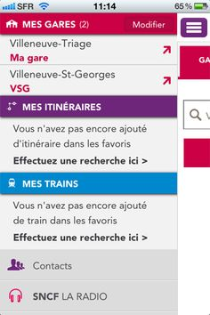 SNCF TER Mobile By SNCF - Category: Travel - Mobile UX / UI Design