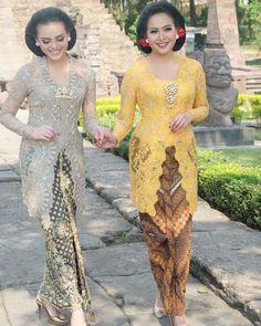 Vera Kebaya, Kebaya Lace, Kebaya Dress, Model Dress Batik, Batik Dress, Model Kebaya Brokat Modern, Dress Batik Kombinasi, Elegant Dresses, Beautiful Dresses