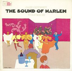 Milton Glaser, artwork for The Sound of New Orleans, Chicago & Harlem, 1964/65. Columbia Records, Jazz Odyssey series.