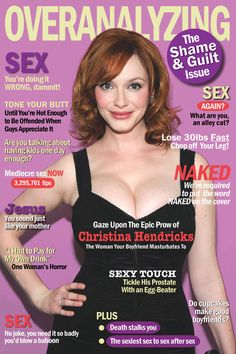 ha ha... thats almost exactly the kind of nonsense I see when I look at those magazine covers