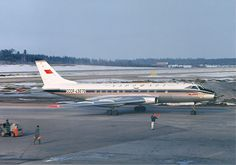 29 January 1970 - Aeroflot Flight 145, a Tu-124V (CCCP-45083) Crashed into a snow-covered hill, 29 kilometres (18 mi) away from Murmansk Airport, Soviet Union on approach, sliding down the snowy slope. 11 of 38 on board were killed.
