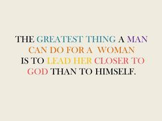 Love this! And so true! A Godly man is the best man :-)
