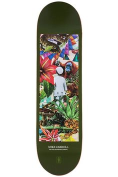 GIRL Skateboard Deck Jungle Mike Carroll 8.375 | snapchat @ http://ift.tt/2izonFx