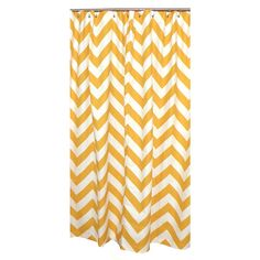Sophia Shower Curtain in Yellow