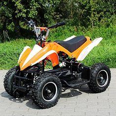 Elektro Kinderquad Racer 800 Watt ATV Pocket Quad orange - http://www.mini-quads.de/produkt/elektro-kinderquad-racer-800-watt-atv-pocket-quad-orange/ - #miniquad #miniquads #kinderquad