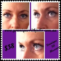 Testimonial of my own eye how BRILLIANT this mascara truly is. Get yours today at www.youniquewithjulie.com.au or sign up under the same web to sell Younique & have great fun whilst earning money & FREE makeup!