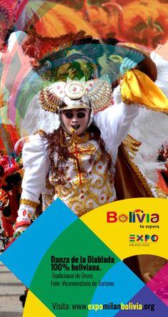 Danza de la diablada 100% boliviana
