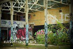 Waterworks... A derelict waterworks building in Yorkshire.