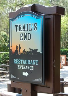 Trail's End is a hidden gem of a restaurant in Disney's Fort Wilderness Campground near the Magic Kingdom at Disney World.   The prices are more reasonable than most Disney World restaurants and the food is good.   Simple, western theme.