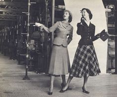 Fashion for the working woman. via tumblr.
