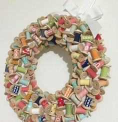 recycle ! couronne-bobines