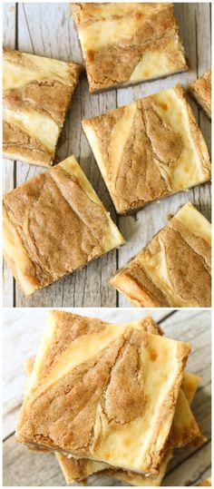 Cream Cheese Swirled Blondies - one of the best bar desserts you'll ever try! { lilluna.com } #recipe