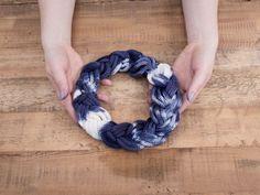 DIY-Anleitung: Shibori-Stirnband mit der Strickmühle stricken via DaWanda.com