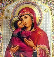 Blessed Mother and Jesus