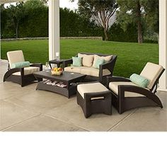 Patio furniture inspiration