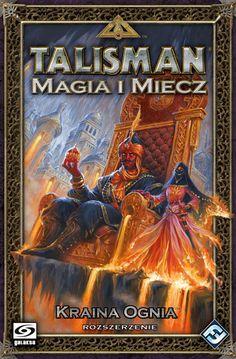 Gra planszowa Talisman Magia i Miecz: Kraina Ognia