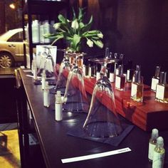 Blooming Dreams Perfumes. Set up at Blackbird Apothecary in Ballard, WA. #naturalperfume