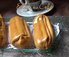 pâte à chou et Eclairs au café maison