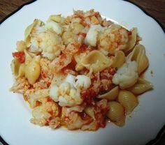 LA CASA E IL GIARDINO: Cauliflower and Shell Pasta - Cavolfiore e Pasta