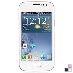 Celular Touchscreen S8190 MT6515 Android 4.1  tela de 4 Polegadas (WiFi, FM) – BRL R$ 198,52