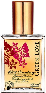 Green Love Organic Perfume Oil Wild Strawberry 100% pure and 100% organic! One to try?