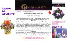 TIEMPO DE ADVIENTO. ORACION SABADO 14 DE DICIEMBRE DEL 2013. *♥ ♥LOURDES MARIA BARRETO♥ ♥*