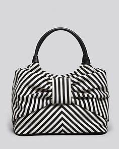 kate spade new york Shoulder Bag - Seaside Stripe Sutton Bow | Bloomingdale's