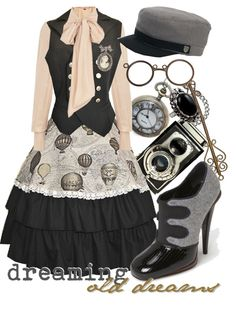 """dreaming old dreams"" by princesschandler on Polyvore"