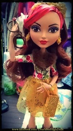 "oc601875: """"With or without glasses, there's not doubt that Rosabella Beauty™ (Daughter of Beauty and The Beast) is one of the fairest Ever After High dolls! #EverAfterHigh #EAH #Rebel"" """