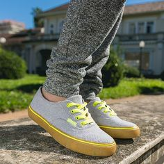 eco whoop sneaker #sustainable #ecofriendly #eco #upcycling #neon