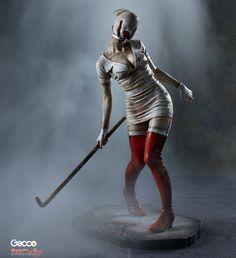 Silent Hill Nurse Statue