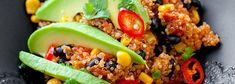 Quinoa po meksykańsku Tex Mex, Quinoa, Gluten, Rice, Mexican, Lunch, Healthy Recipes, Dinner, Cooking