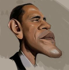 celebrity caricatures and famous people Caricature From Photo, Caricature Drawing, Funny Caricatures, Celebrity Caricatures, Barack Obama, Eyebrow Game, Wtf Face, Black Celebrities, Weird Pictures