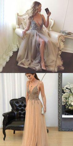 long homecoming dress prom dress, grey long homecoming dress, 2017 long homecoming dress, formal evening dress