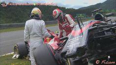 Alonso y Raikkonen exculpados por el choque