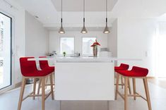 miniature Aménagement d'une maison moderne et design : cuisine, salon, salle de douche, Paris, SK Concept La Cuisine dans le Bain Architecte d'intérieur - architecte d'intérieur