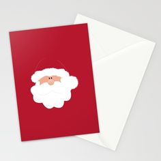 Santa Claus Stationary Cards