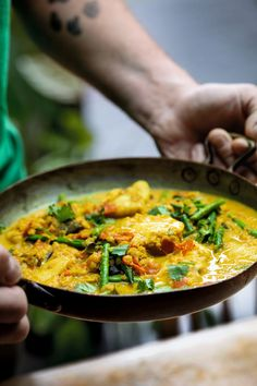 Monkfish is a robust, meaty fish that's great in a curry as it holds its own well with complex spices. Red lentils and coconut provide richness. Curry Recipes, Seafood Recipes, Indian Food Recipes, Vegetarian Recipes, Cooking Recipes, Healthy Recipes, Ethnic Recipes, Prawn Recipes, Cod Recipes