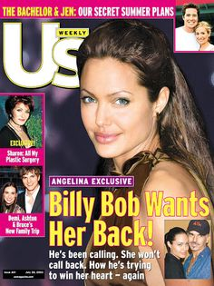 Angelina Jolies Us Weekly Covers: July 28, 2003