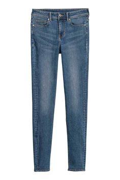 Trousers - džínsovomodrá - ŽENY   H&M SK