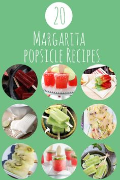 Popsicles aren't just for kids! These 20 boozy margarita popsicle recipes are sure to be a hit with the adults at your pool parties this summer! Fun Cocktails, Fun Drinks, Yummy Drinks, Alcoholic Drinks, Beverages, Frozen Desserts, Frozen Treats, Healthy Desserts, Healthy Recipes