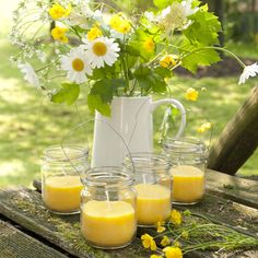 #summer #candles | Dille & Kamille