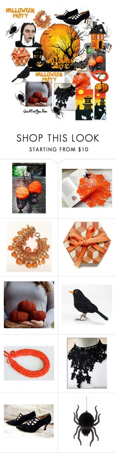 """""""Halloween Party"""" by justforyouhm ❤ liked on Polyvore featuring Saks Fifth Avenue"""