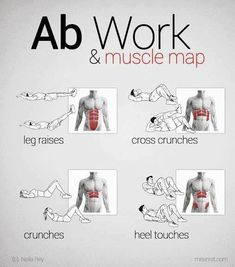 4 Different ab exercises to try out! SHARE this with your friends  #workout   #fitness   #sweetsweat